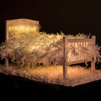 Feather Bed (3D Sculpture)
